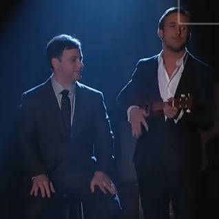 Ryan Gosling Singing and Playing Ukulele on Jimmy Kimmel Live 2011-01-23 03:00:00