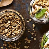 Yoghurt, Peanut Butter, and Oats