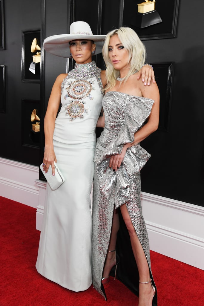 Lady Gaga and J Lo Showing Off Their Style Together