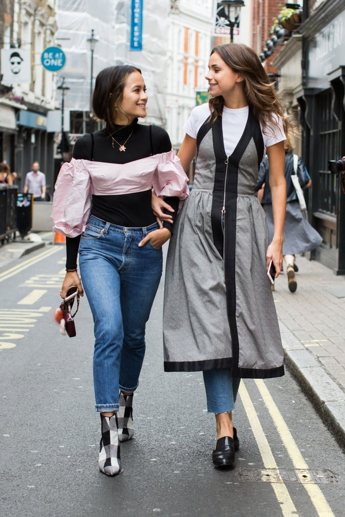 London Fashion Week Street Style Spring 2017