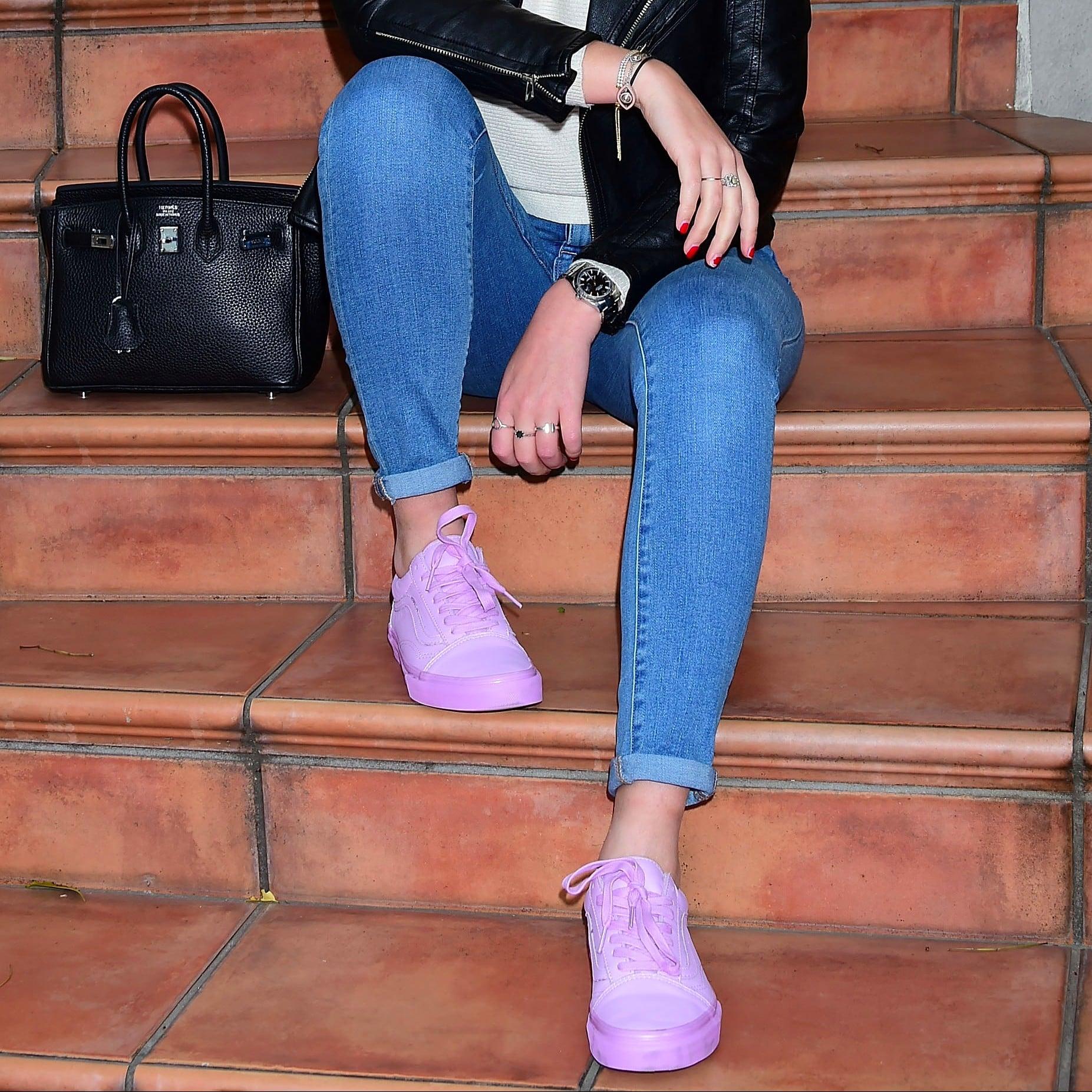 Lavender Sneakers   POPSUGAR Fitness