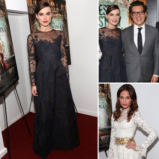 Keira Knightley at Anna Karenina Premiere in NYC | Pictures
