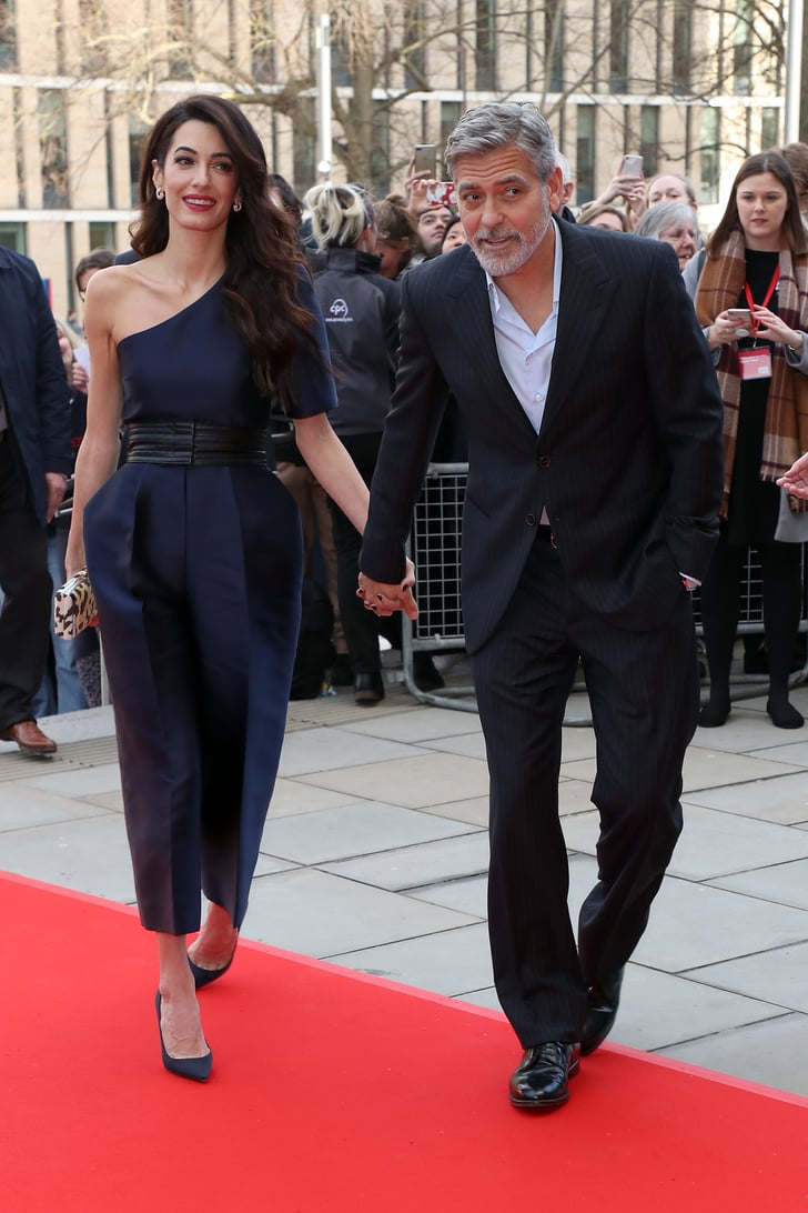 Amal Clooney Jumpsuit at Postcode Lottery Charity 2019 ...