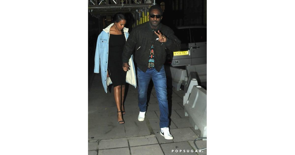 Idris Elba And Sabrina Dhowre S Cutest Pictures Popsugar