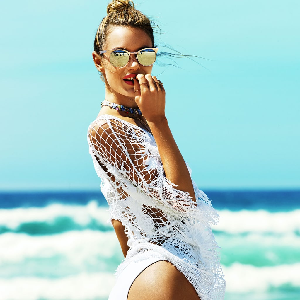 Seafolly Preview 2014 with Camille Rowe