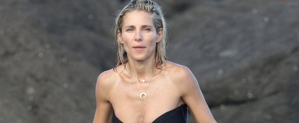 Elsa Pataky Black Bikini