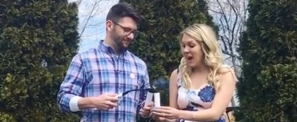 Smoke Bomb Gender Reveal Fake Out