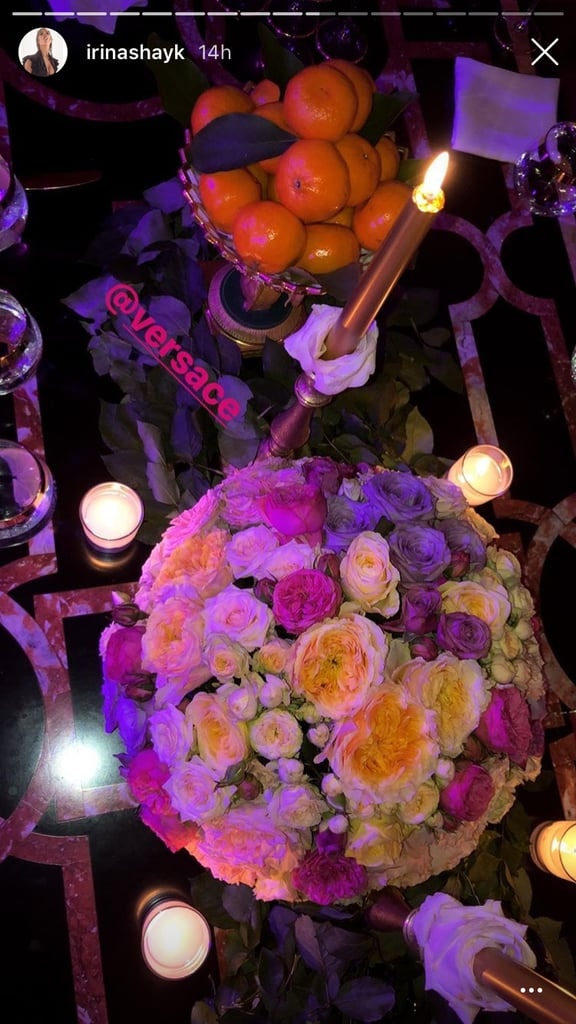 Clearly, the Tablescape at the Versace Party Was Gorgeous