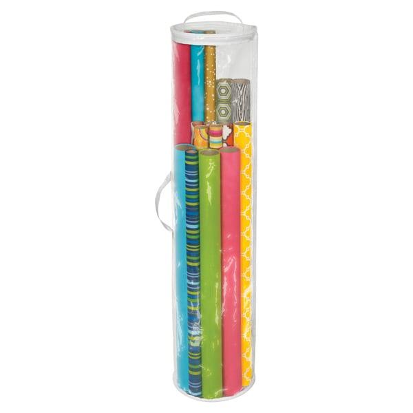 Cylindrical Gift Wrap Organizer