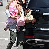 Pictures of Jen and Violet