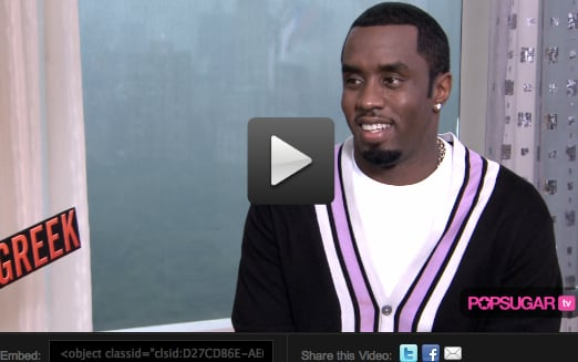 Video of Jonah Hill and Diddy Talking About Get Him to the Greek
