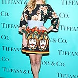 Poppy Delevingne wore Spring 2013 Dolce & Gabbana at Tiffany & Co.'s Blue Book Ball in New York. Source: Will Ragozzino/BFAnyc.com
