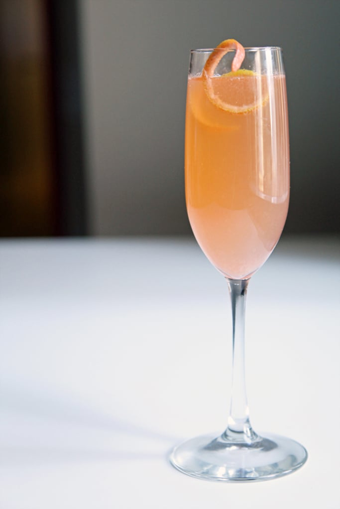 Grapefruit-Elderflower Sparkler