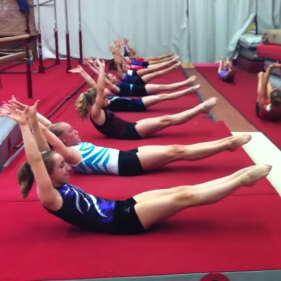 Gymnastics Ab Routine to Beyonce