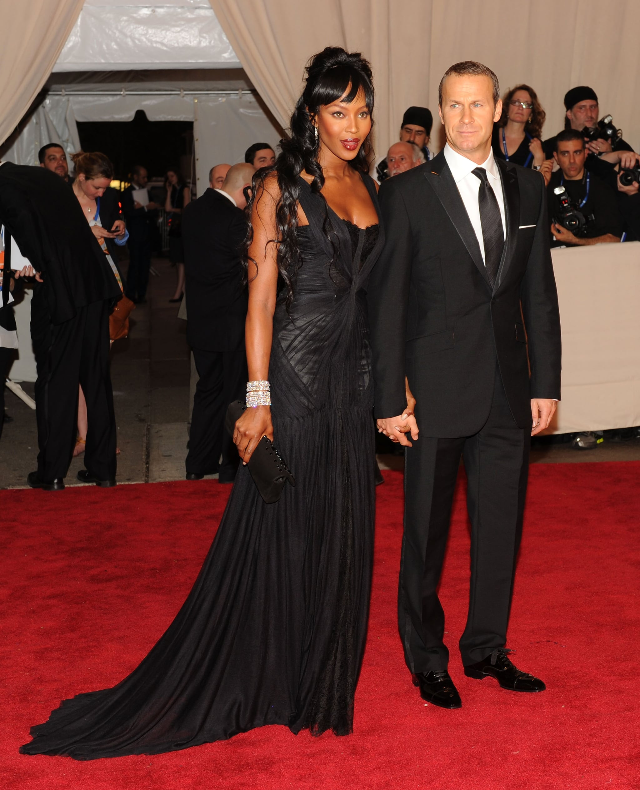 Naomi Campbell and Vladimir Doronin