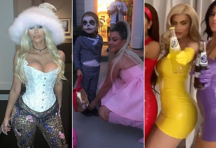 Kardashian and Jenner Family Halloween Costumes 2018