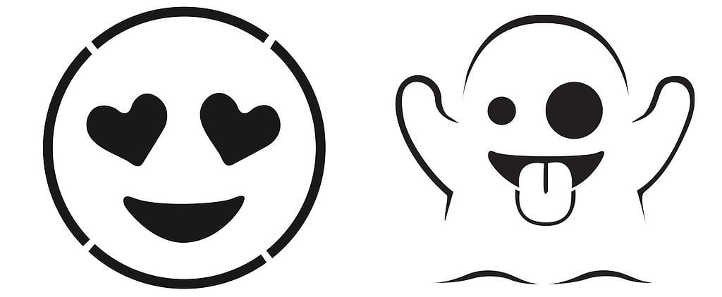 emoji - Halloween Art Templates