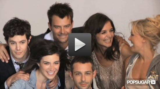 Katie Holmes, Josh Duhamel, Adam Brody & Cast of The Romantics J.Crew Collection Photo Shoot Behind the Scenes