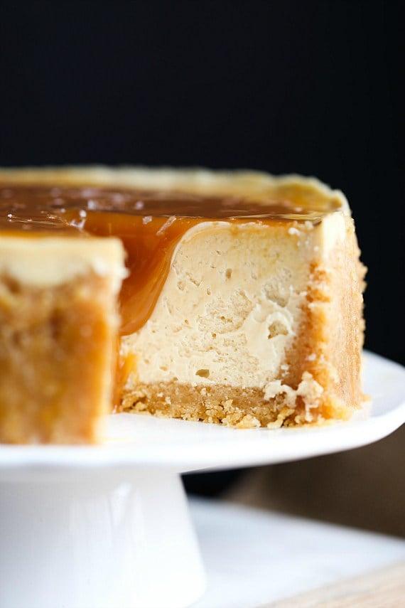 Salted Caramel Cheesecake Cheesecake Factory Copycat