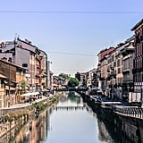 Stroll by the buzzing canals of the Navigli neighborhood