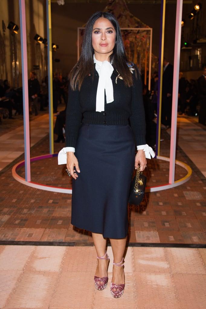 October at the Alexander McQueen Show in Paris