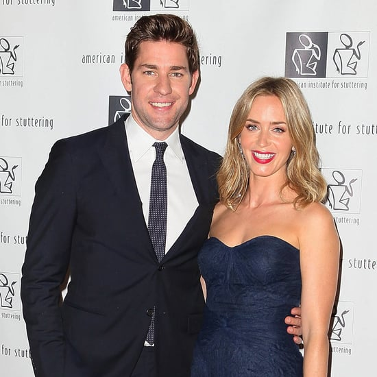 Emily Blunt at Stuttering Benefit 2013