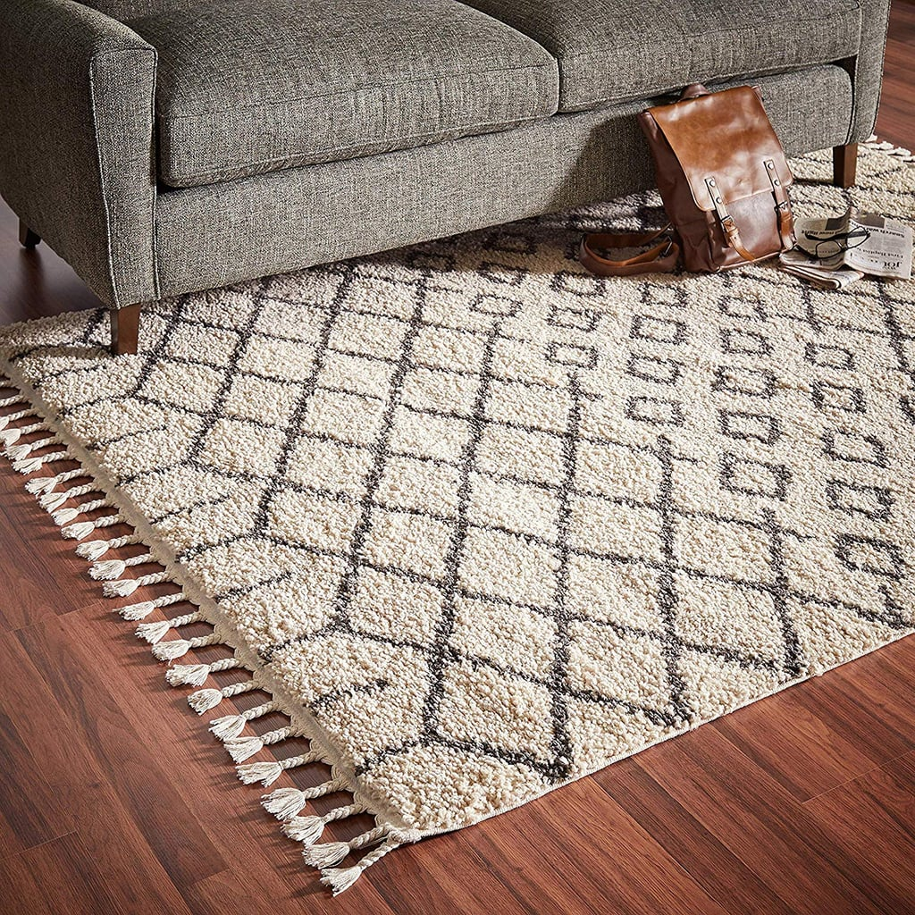 Amazon.com: Rivet Shag Diamond Morrocan Area Rug