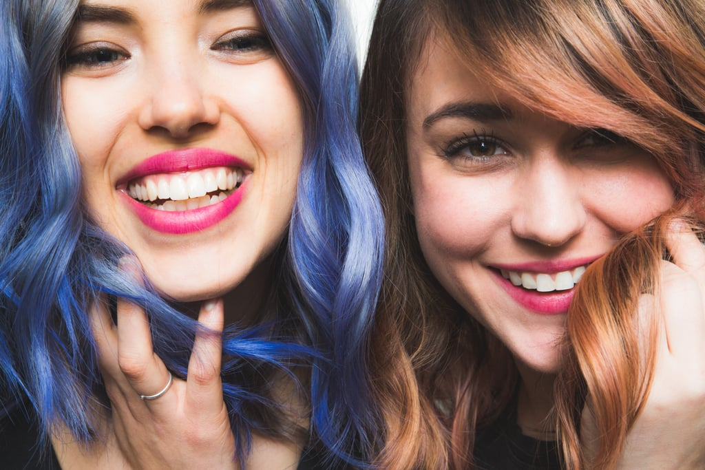 Don't forget to check out our blue hair color tutorial for blondes, too!