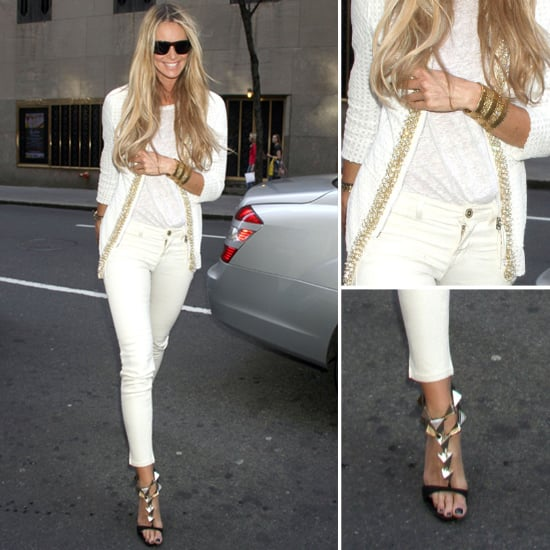 Elle Macpherson All-White Outfit