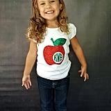 Monogrammed Apple T-Shirt