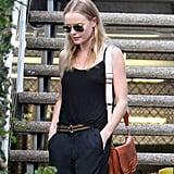 Kate Bosworth was solo for an outing in LA.