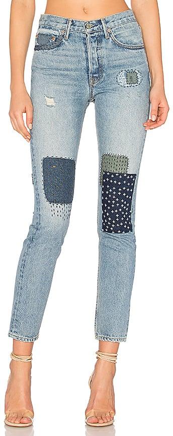 Grldfrnd x Revolve Karolina High-Rise Skinny Jean.