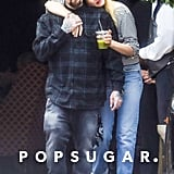 Benji Madden and Cameron Diaz Hugging in LA June 2017