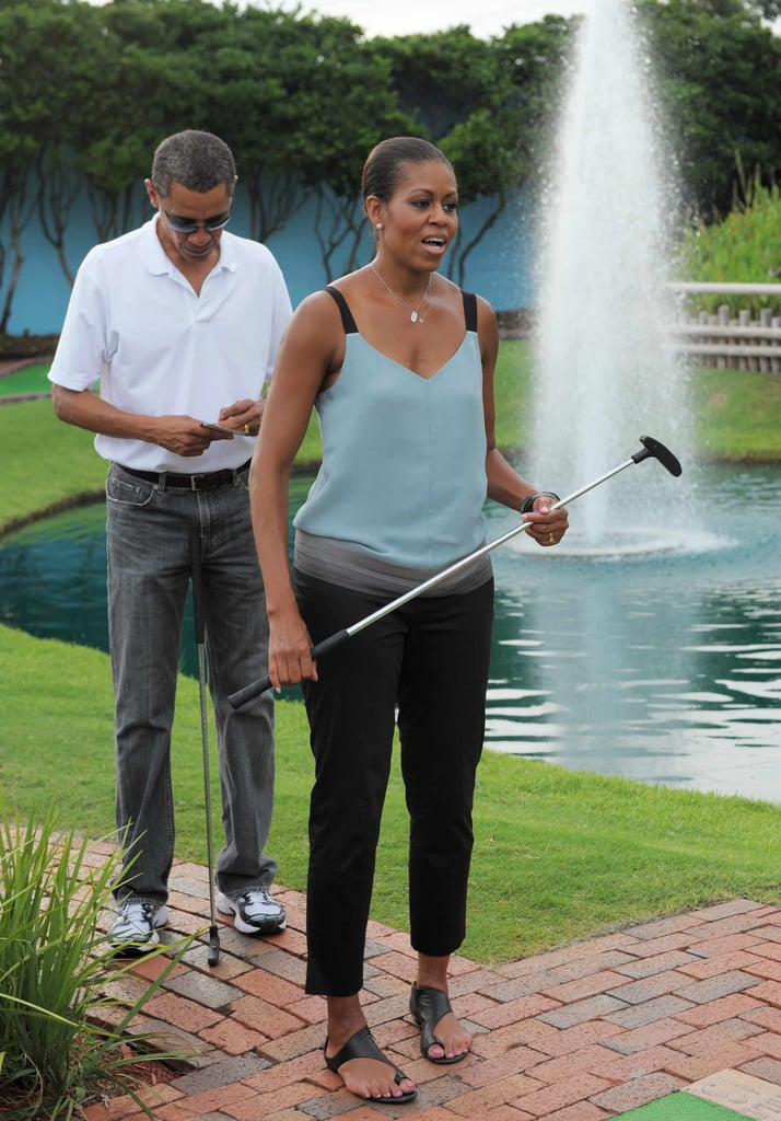 Michelle Obama's Casual Style