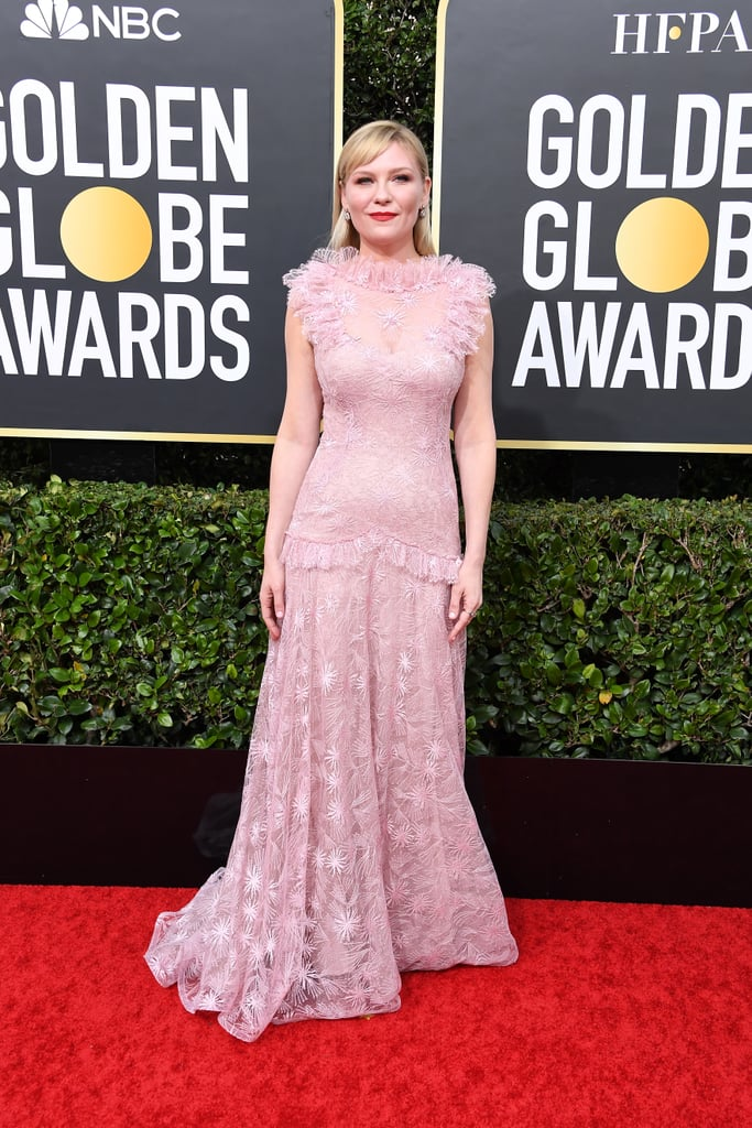Kirsten Dunst At The 2020 Golden Globes See Every Red