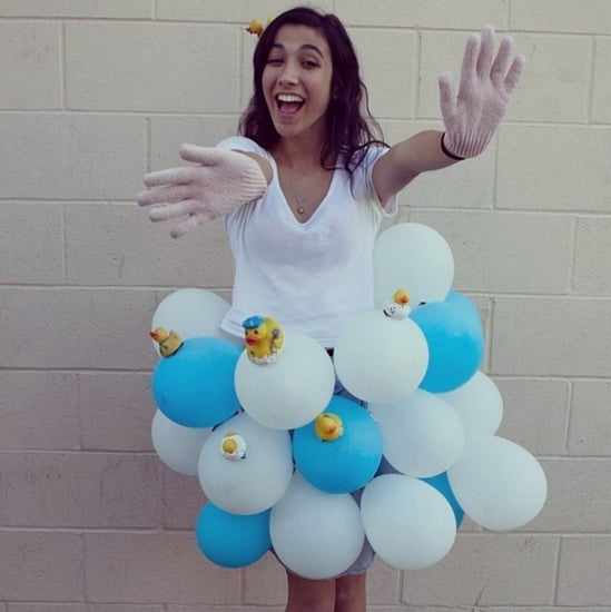 DIY Balloon Halloween Costumes