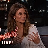 Maria Describes Her Proposal on Jimmy Kimmel Live!