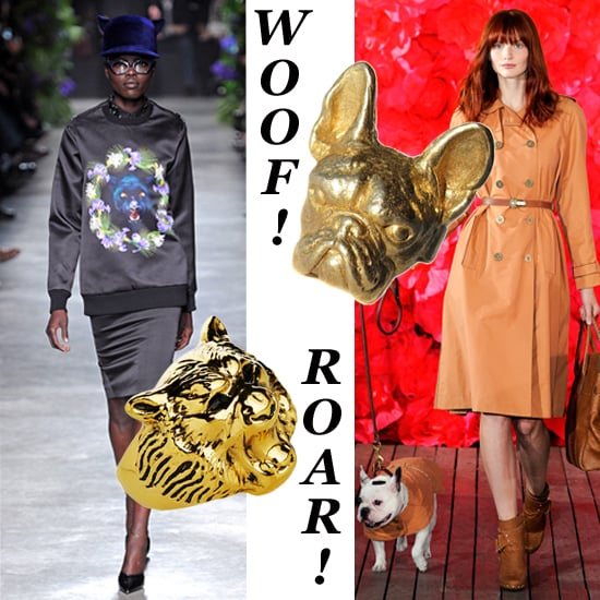 Animal Jewelry Is a Fierce Accessory Trend For Spring 2011