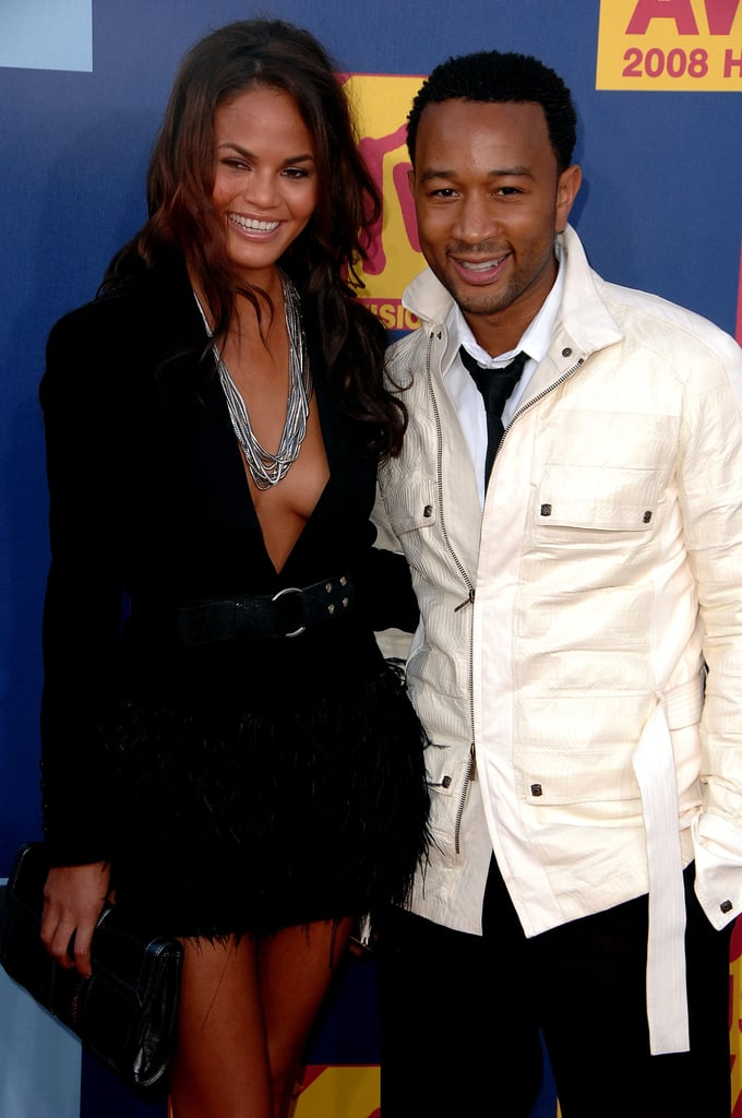 John Legend and Chrissy Teigen, 2008