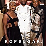 Pictured: Cynthia Erivo, Chadwick Boseman and Letitia Wright
