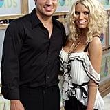 Nick Lachey and Jessica Simpson, 2005