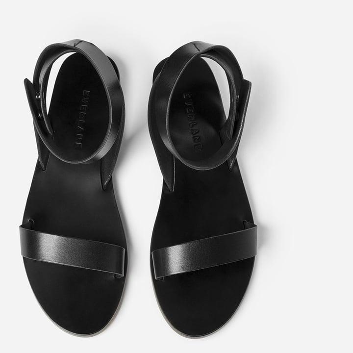 The Italian Ankle-Wrap Sandal ($118)