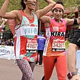 """""""The decision to run the marathon free bleeding started in my own head."""""""
