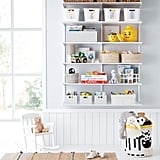 Elfa Classic 4' Kids Playroom Shelving