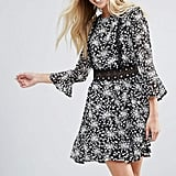 Rage Crotchet Floral Dress