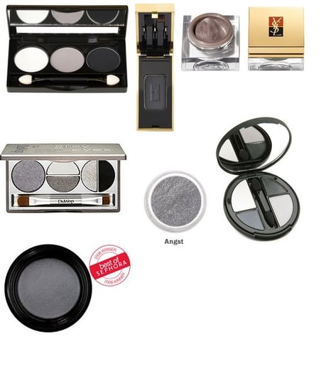 Great Gunmetal Gray Eye Shadows