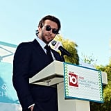 Bradley Cooper took the stage.