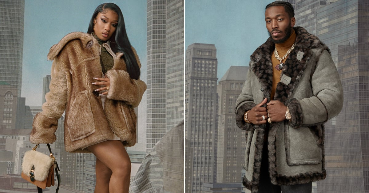 Megan Thee Stallion and Pardi Fontaine Make Their Campaign Debut as a Couple For Coach.jpg
