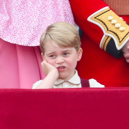 Prince George at the Trooping the Colour 2017 Pictures