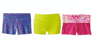 8 Short Shorts to Rock to Yoga